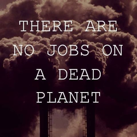 there are no jobs on a dead planet